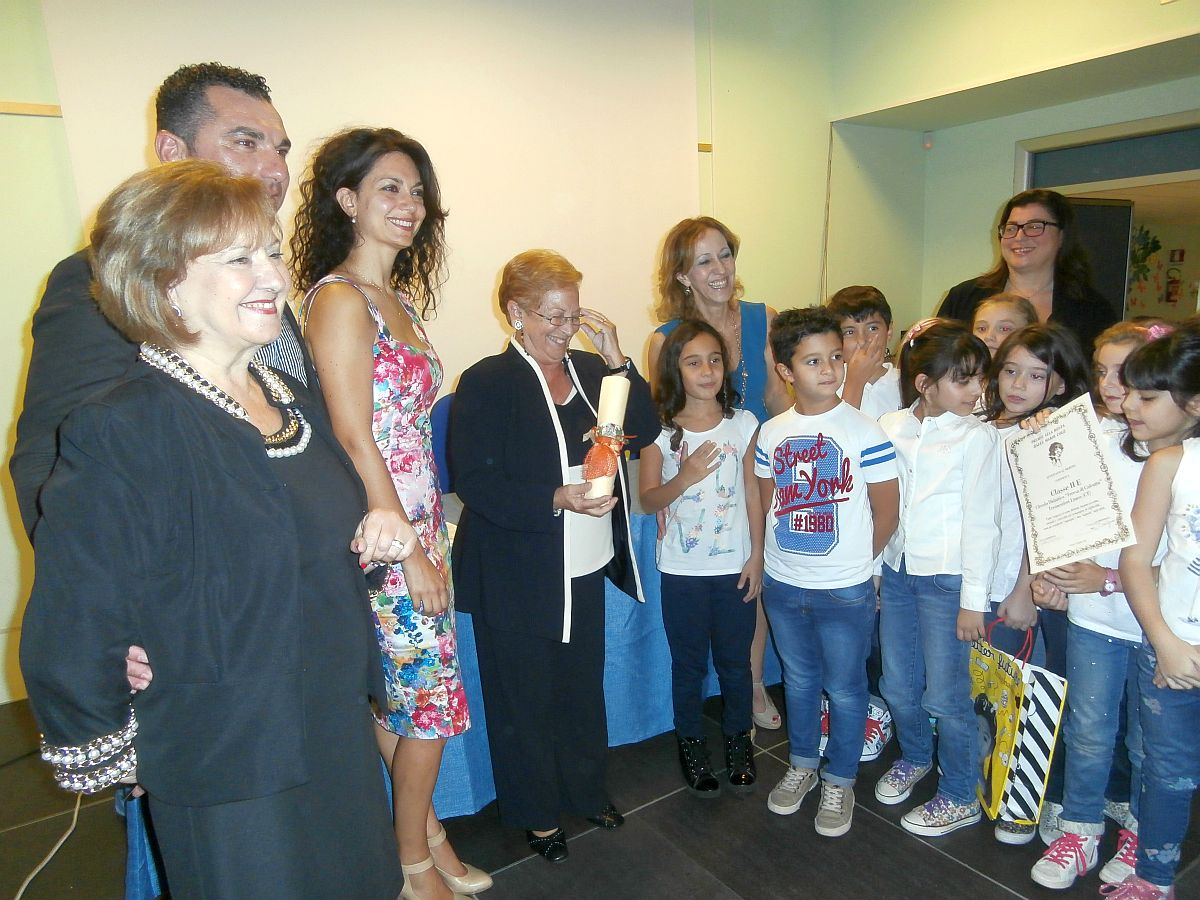 Premiazione a Tremestieri Etneo (CT) il 17 Ottobre 2015