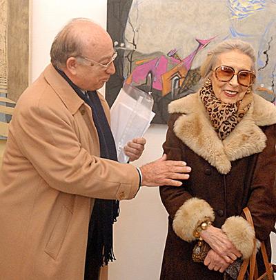 Trieste, 5 gennaio 2008 - La giornalista Fulvia Costantinides, grande protagonista del Premio alla Bontà fin dalle sue origini.