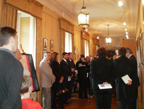 Duino, 24 ottobre 2009 - Parte del pubblico presente all'inaugurazione.