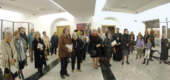 Trieste, 6 novembre 2010 - Il pubblico presente all'inaugurazione. (Foto Micol)