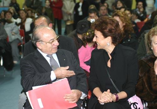 Il pubblico della premiazione ed sindaco di Taranto.