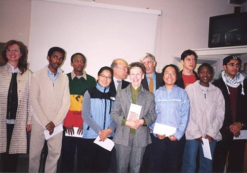 Foto di gruppo dei premiati.