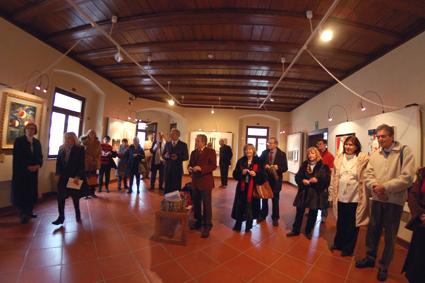 Malborghetto, 19 gennaio 2008 - Parte del pubblico presente all'inaugurazione. (Foto Micol)