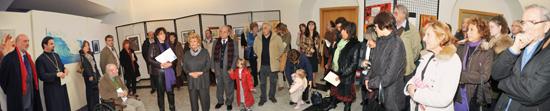 Trieste, 12 novembre 2009 - Una panoramica del pubblico presente all'inaugurazione. (Foto Micol)