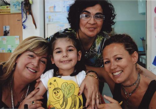 Cristina e le sue maestre.