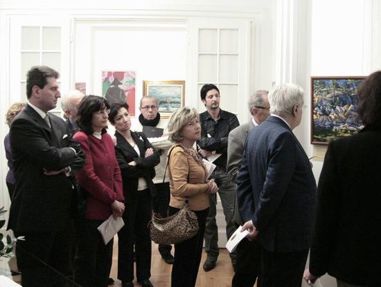 Trieste, 20 dicembre 2008 - Parte del pubblico presente all'inaugurazione.
