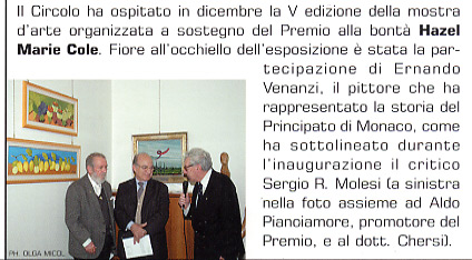 marzo 2005 Bollettino del Gruppo Generali, Trieste Attività del Circolo Generali