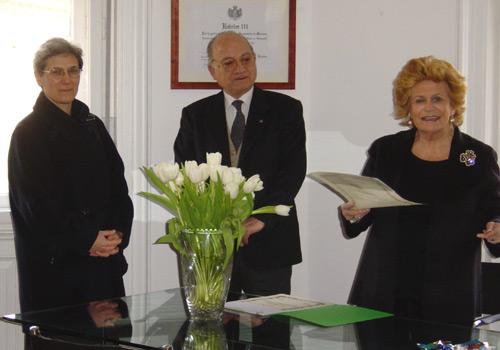 Premiazione di Madre Viviana Terregni