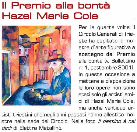 marzo 2004 Vita Nuova, Trieste Il Bollettino, Rivista del Gruppo Generali