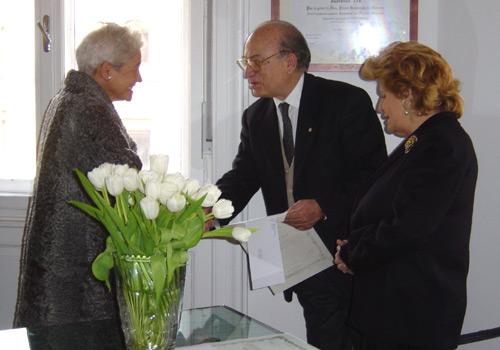Premiazione della Sig.ra Simoni