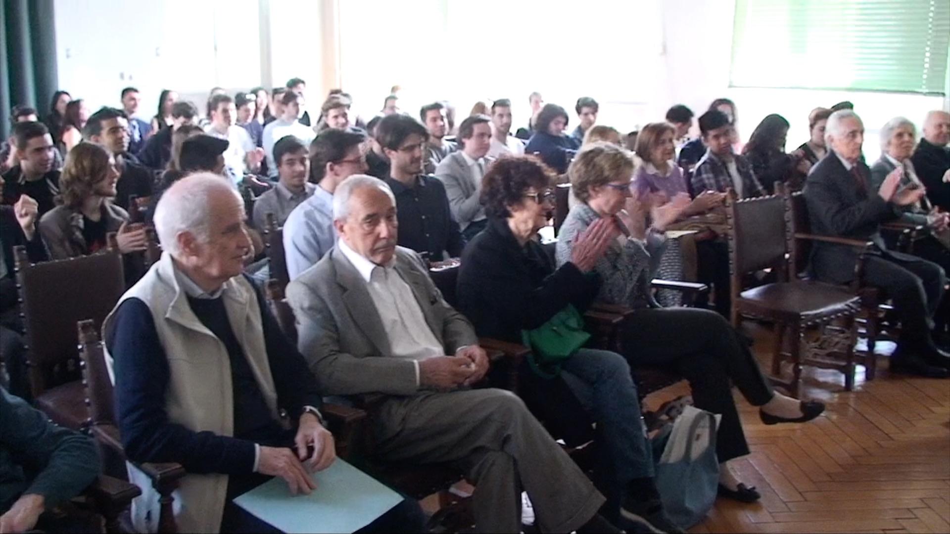 Un'altra veduta dei partecipanti alla premiazione