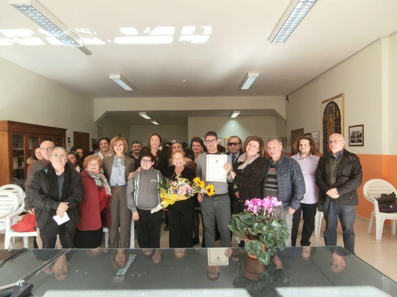 Ancora in gruppo con Insegnanti, autorità, don Franco, don Raffaele, parenti e amici più cari.