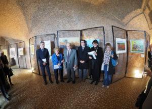 L'arch.Marianna Accerboni presenta gli artisti della mostra