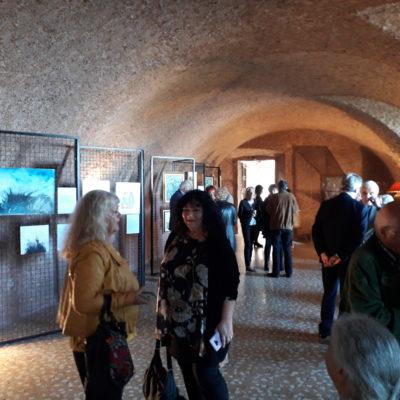 Alcuni presenti alla mostra