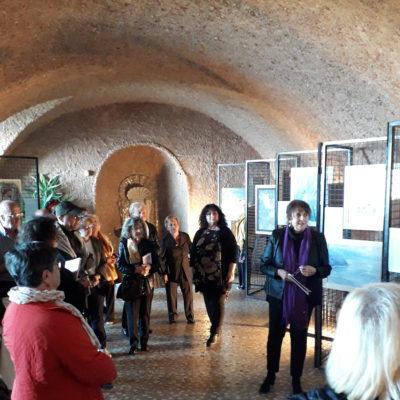 Alcuni presenti mentre seguono la presentazione dell'architetto Accerboni